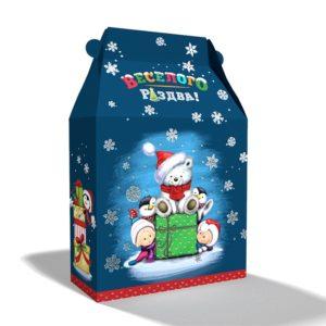"Сладкий новогодний подарок - набор 7 ""Веселого Рождества"""