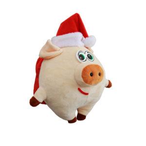 новогодний сладкий подарок в мягкой игрушке